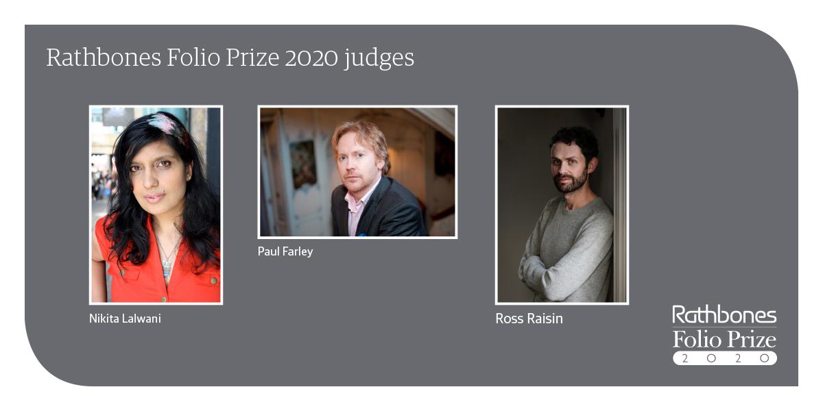 Rathbones Folio Prize 2020 judges