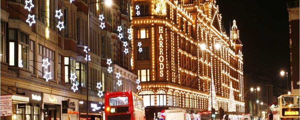 Harrods at Christmas - Rathbone Investment Management