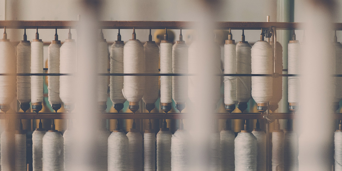 Cotton reels - factory