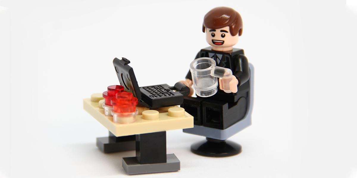 Lego man toy
