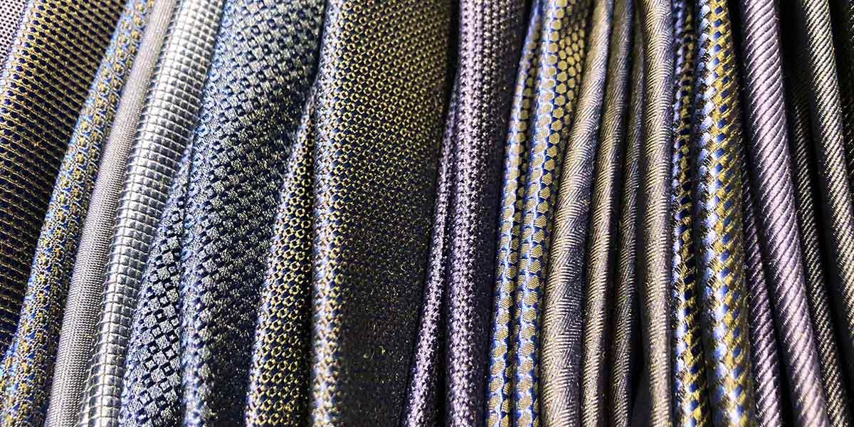 Assortment of neckties