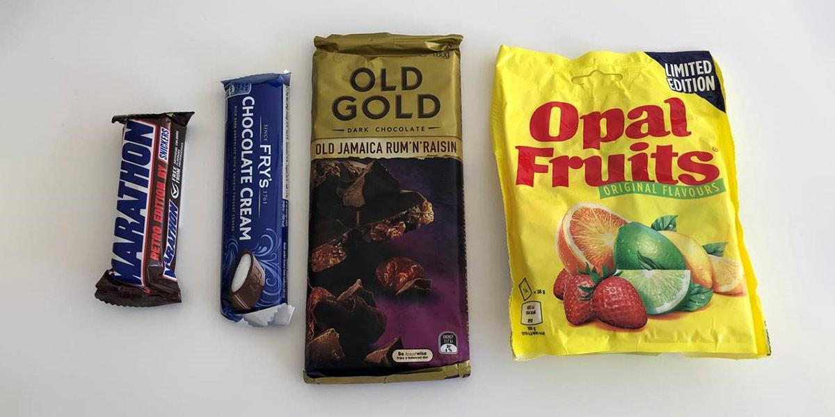 Nostalgia treats