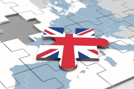 Union Flag jigsaw piece removed from map of Europe -Rathbone Investment Management