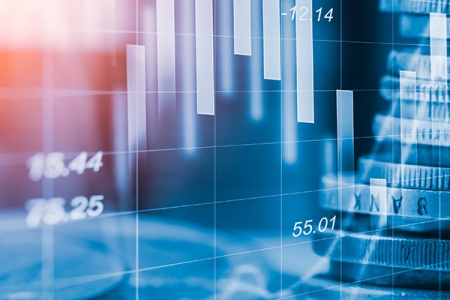 Graphic of stocks and shares | Rathbone Investment Management