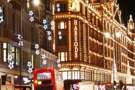 Harrods at Christmas - Rathbone Investment Management