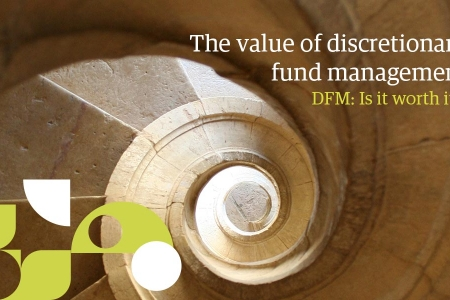 DFM research report cover - staircase abstract