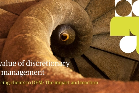 Value of DFM abstract staircase image