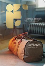 Services for financial advisers brochure